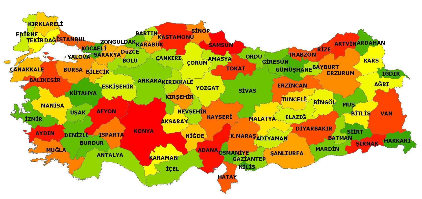 Türkiye eyalet sistemine geçiyor
